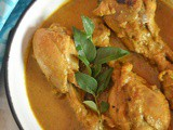 Kukul Mas Curry ~ Sri Lankan Chicken Curry
