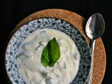 Mast-o-Khiar ~ Persian Cucumber Yogurt Dip