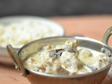 Safed Maas ~ Rajasthani White Mutton Stew
