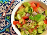 Salad Shirazi ~ Persian Cucumber Tomato Salad