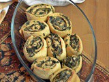 Spinach Labneh Rolls