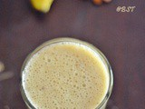 Vegan Banana Almond Smoothie