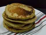 Wholewheat Flax Pancakes