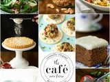 A Reflection – Café Favorite Recipes 2016