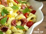 A Trio of Pasta Salads; Perfect for Picnics and Parties