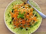 Annie's Carrot & Fennel Salad w/ Fresh Lemon Dressing