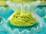 California Avocado Cupcakes w/ Key-Lime Buttercream