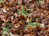 Candied Balsamic-Rosemary Walnuts