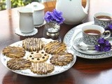 Coconut Shortbread w/ Vanilla Bean Salted Caramel ....... and a Tea Party