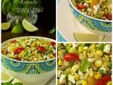 Fresh Corn & Avocado Quinoa Salad