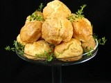 Fresh Thyme Gougeres and the  French  Giveaway
