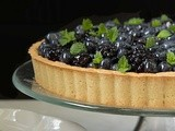 Lemon Cheesecake with Glazed Berries and Shortbread Crust
