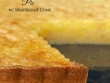 Lemon Chess Tart w/ Shortbread Crust