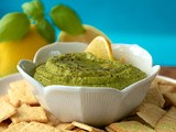 Lemon, Herb & Sweet Pea Hummus