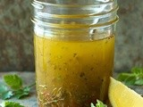 Lemon Herb Vinaigrette, a Salad Dressing for All Seasons