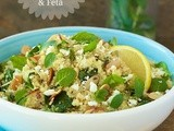 Lemon Quinoa Salad w/ Fresh Herbs & Feta