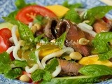 My Favorite Salad ever! Thai Steak & Noodle Salad w/ Ginger-Sesame Dressing