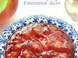 Peach Raspberry Freezer Jam