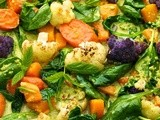 Roasted Veggie Coconut Curry