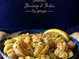 Skillet Shrimp and Pasta Scampi