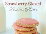 Strawberry-Glazed Butter Thins & a Trio of Charmingi Sou Chefs