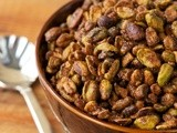 Sweet & Smokey Roasted Pistachios