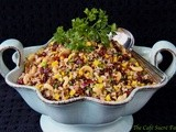 Wheatberry & Wild Rice Salad w/ Mango, Cranberries & Cashews