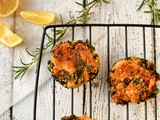 Kale and butter bean fritters
