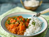 Keralan-style pumpkin and lentil curry