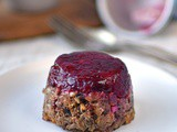 Parsnip, cranberry and nut roast