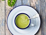 Pea and tarragon soup