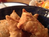 Spicy cauliflower samosas