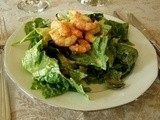 Bc Spot Prawns on  Local Greens