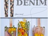 Style Servings: Floral Denim, Wine Popsicles & Bloom Design For Your Home