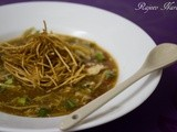 Hot & Sour Soup with Fried Noodles