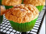 Apple Peanut Butter Muffins