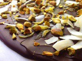 Lime, Coconut, Pistachio and Dark Chocolate Bark ...plus a Giveaway worth $200! #LuckoftheIrish