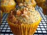 Milk and Honey Poppy Seed Muffins  #Improv