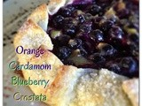 Orange Cardamom Blueberry Crostata.... #Pillsbury #BakeOff #Finalist