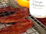 Orange Habanero Candied Bacon and a Saucy Mama #Giveaway