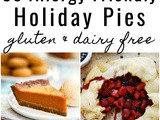 30 Allergy Friendly Holiday Pies (Recipe Round-Up)