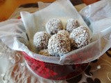 Almond Snow Ball Truffles