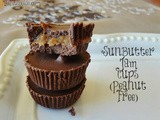 Chocolate SunButter Jam Cups