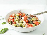 Classic Greek Salad (Dairy Free & Low Carb)