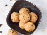 Coffee Chocolate Chip Protein Bites (Gluten Free)