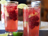 Cool Raspberry Lime Sparkler (and Summer Hydration Tips!)