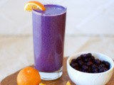 Creamy Blueberry Orange Smoothie