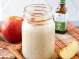 Dairy Free Apple Pie Smoothie (Gluten Free)