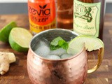 Easy Lower Sugar Moscow Mule Cocktail