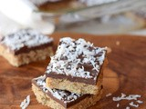 Gluten Free Chocolate Cookie Bars (Vegan)